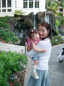 ハワイはヒルトンハワイアンビレッジに泊まりました。