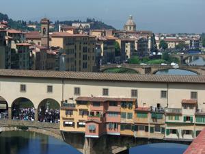 フィレンツェの美しい街並み