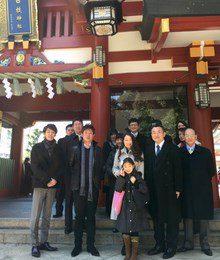 20150105_日枝神社にて初祈祷しました。