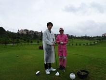 8.楽しみにしていた宮古島でのゴルフですがあいにくの雨でした